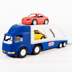 Transportor Masini Albastru - Masinuta electrica copii Little Tikes