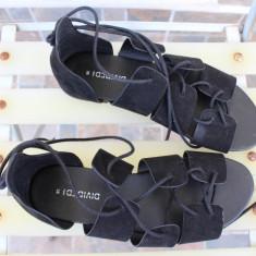 Sandale decupate H&M - Sandale dama H&m, Culoare: Negru, Marime: 38