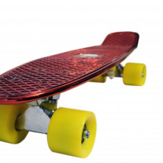 Penny board, Mad Abec-7, Metal Red - Skateboard, Marime: 22