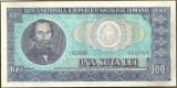 BANCNOTA 100 LEI 1966 AUNC (serie 851559)