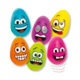 Set 6 Oua Saltarete Din Plastic Funny Face Baker Ross - Jocuri arta si creatie