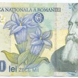 Romania 10000 (10,000) Lei 1999 - hartie-1706847 P-108