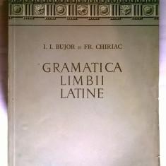 I. I. Bujor, Fr. Chiriac – Gramatica limbii latine