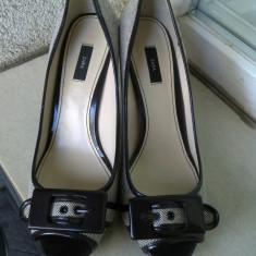 PANTOFI /SANDALA DEOSEBITI, ELEGANTI ZARA MARIME 39 - Pantof dama, Culoare: Din imagine
