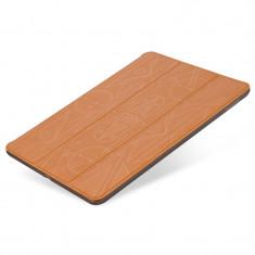 Flip Cover, Hoco, Cube series pentru iPad air 2, Maro cu negru - Husa Tableta