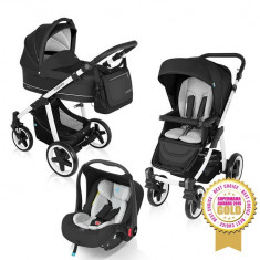 Baby design lupo comfort 10 black 2016 - carucior multifunctional 3 in 1 - Carucior copii 3 in 1