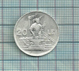 20 lei 1951-dupa imagine, Aluminiu