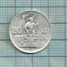 20 lei 1951-dupa imagine - Moneda Romania, Aluminiu
