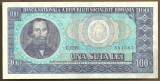 BANCNOTA 100 LEI 1966 AUNC (serie 851561)