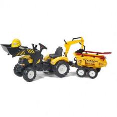 Tractor Powerloader Cu Cupa, Remorca Si Accesorii Falk