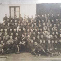 Fotografie de grup - Școală militară - interbelică, Alb-Negru, Romania 1900 - 1950