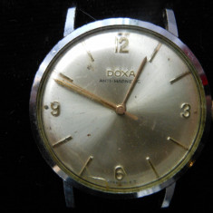 Ceas barbatesc, DOXA Antimagnetic, swiss made, functional., Mecanic-Manual