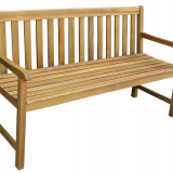 Banca din lemn masiv Hecht Classic, Max 300 Kg - Banci de gradina