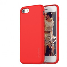Carcasa, araree, Airfit pentru Apple iPhone 7 Plus, Tangerine Red - Husa Telefon