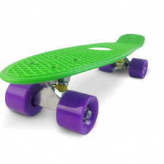 Penny board, Mad Abec-7, Electric Green - Skateboard, Marime: 22