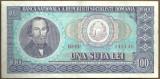 BANCNOTA 100 LEI 1966 AUNC (serie 346146)