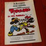 Supliment ziar Il Messaggero l. italiana banda desenata Topolino - 1990 / 16 pag - Reviste benzi desenate