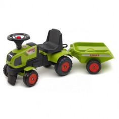 Tractor Claas Axos Cu Remorca Falk