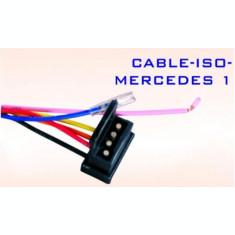 Conector auto  ISO-MERCEDES 1  AL-TCT-5139
