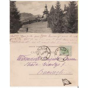 Sinaia (clasica) - Castelul Peles -1900- Editura Rommler Jonas