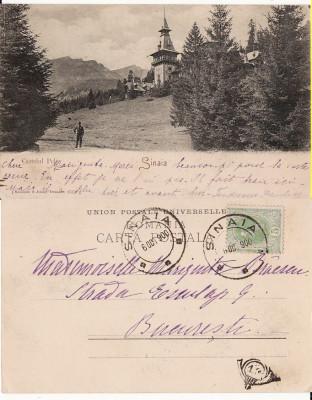 Sinaia (clasica) - Castelul Peles -1900- Editura Rommler Jonas foto