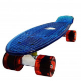 Penny board, Mad Abec-7, Crystal Blue - Skateboard, Marime: 22