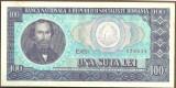 BANCNOTA 100 LEI 1966 AUNC (serie 478838)