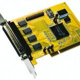 Placa achizitii Multi I/O 4S (4 x RS232) + 1P (paralel) EXSYS 41094
