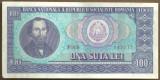 BANCNOTA 100 LEI 1966 AUNC (serie 049977)