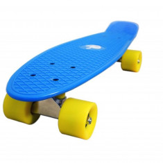 Penny board, Mad Abec-7, Blue Ciel - Skateboard, Marime: 22