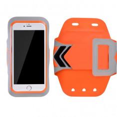Husa universala armband, Hoco, HS7, portocalie - Husa Telefon