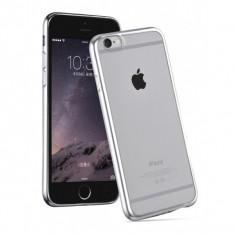 Carcasa Hoco, Black Series Glint Plating, pentru Apple Iphone 6 plus/6 s plus, Argintiu - Husa Telefon