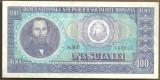 BANCNOTA 100 LEI 1966 AUNC (serie 749021)