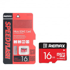 Card de memorie Remax, Mini SD, 16 GB - Card memorie