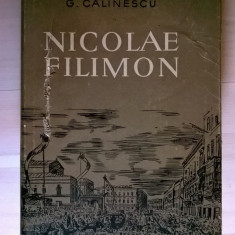 G. Calinescu - Nicolae Filimon