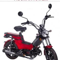 Moped, scuter pe BENZINAcu cadru de otel EEC ZT-35 BOXER