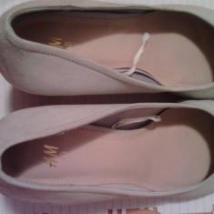 Pantofi dama H&M - Pantof dama H&m, Culoare: Bej, Marime: 40