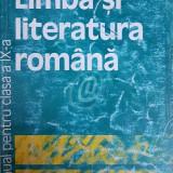 Limba si literatura romana. Manual pentru clasa a IX-a (1999) - Manual scolar