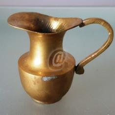 Vas bronz masiv, 7 cm - Arta din Metal