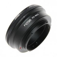 Adaptor FOTGA Obiective Canon FD pt camere Sony E, seria NEX A5000 A6000 A7 A7R - Inel adaptor obiectiv foto