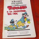 Supliment ziar Il Messaggero l. italiana banda desenata Topolino - 1990 / 24 pag - Reviste benzi desenate