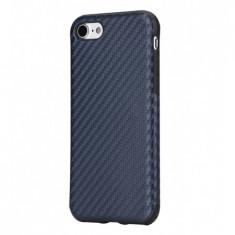 Carcasa, Hoco, Ultra thin series carbon fiber, pentru Apple iPhone 7, Albastru - Husa Telefon