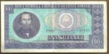 BANCNOTA 100 LEI 1966 AUNC (serie 610870)