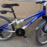 Super oferta bicicleta cu roti de 24 la un pret bun 320lei - Mountain Bike, Numar viteze: 9