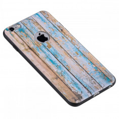 Carcasa Hoco, Element Series Wood Grain, pentru Apple Iphone 6 plus/6 s plus, Weatherworn wood - Husa Telefon