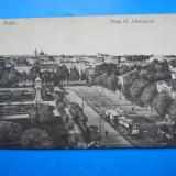 HOPCT 26 E BRAILA PIATA SF ARHANGHELI IN 1917 -CIRCULATA - Carte Postala Muntenia 1904-1918, Printata