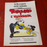 Supliment ziar Il Messaggero l. italiana banda desenata Topolino - 1989 / 16 pag - Reviste benzi desenate