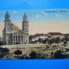 HOPCT 26 P SATU MARE PIATA DEAK IN ANUL 1915 -NECIRCULATA - Carte Postala Transilvania 1904-1918, Printata