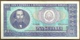 BANCNOTA 100 LEI 1966 AUNC (serie 773250)