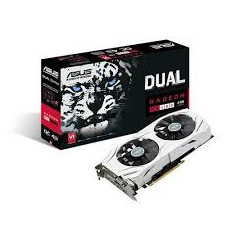 Placa video Asus Radeon RX 480 Dual 4GB GDDR5 256bit, sigilata, garantie 6 luni - Placa video PC Asus, PCI Express, Ati